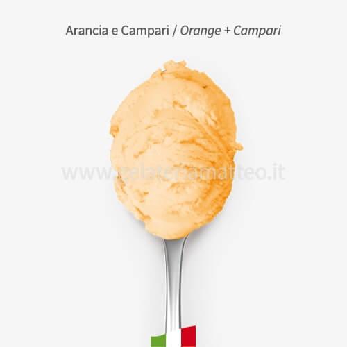 Sorbetto Arancia e Campari - o,5 Kg