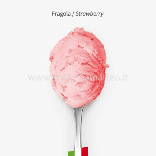 Strawberry Ice Cream 0,5Kg