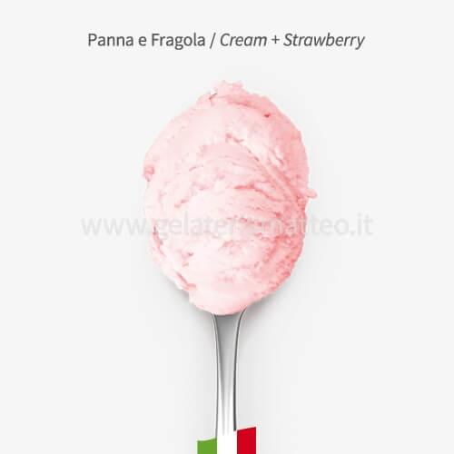 Strawberry Ice Cream 0,5Kg