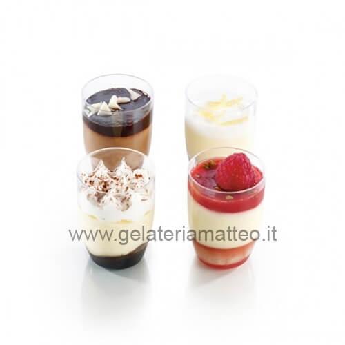 dolci al bicchiere